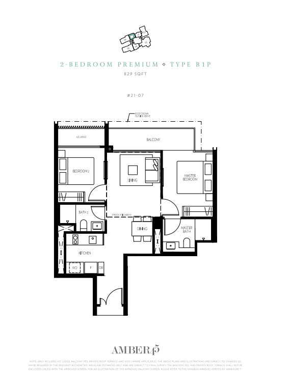 Amber 45 Typical Units And Floor Plans
