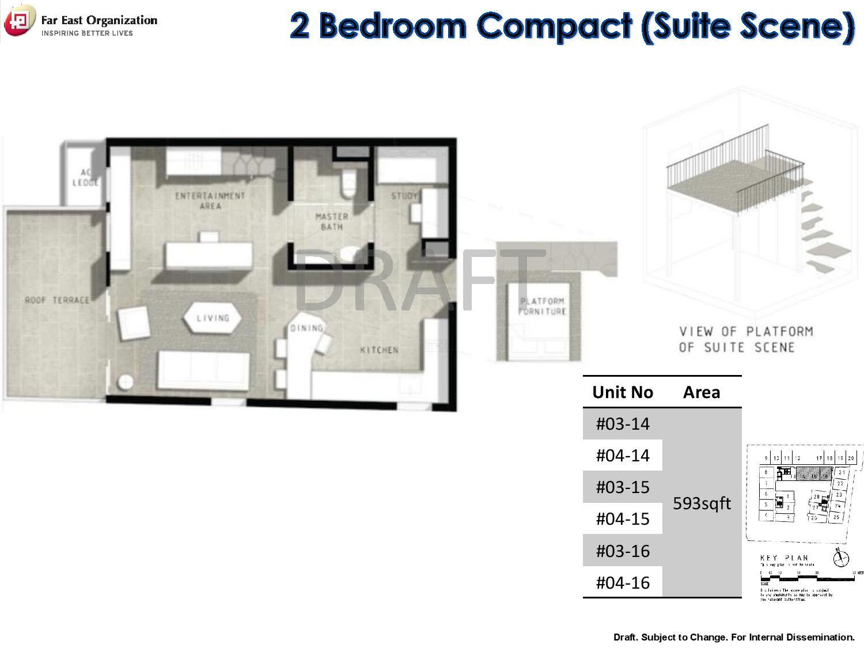 Bijou Pasir Panjang Units Mix Floor Plans