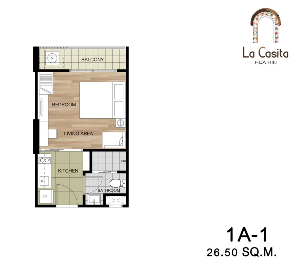 La Casita Units Mix Floor Plans
