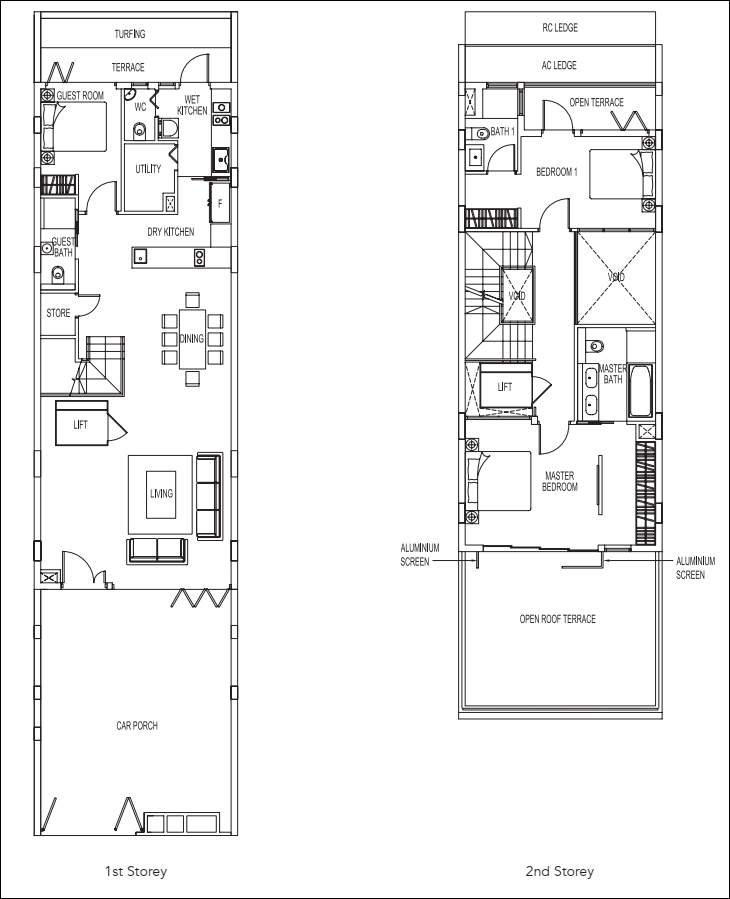 Luxus Hills Floor Plans And Typical Units