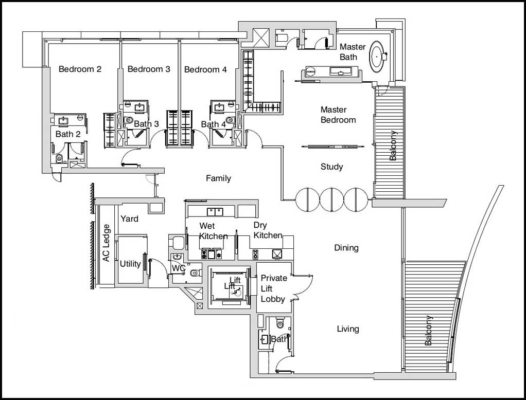 Eden Residences Capitol Floor Plans Units Mix