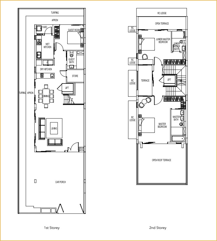 Luxus Hills Contemporary Collection Phase 16 Floor Plans