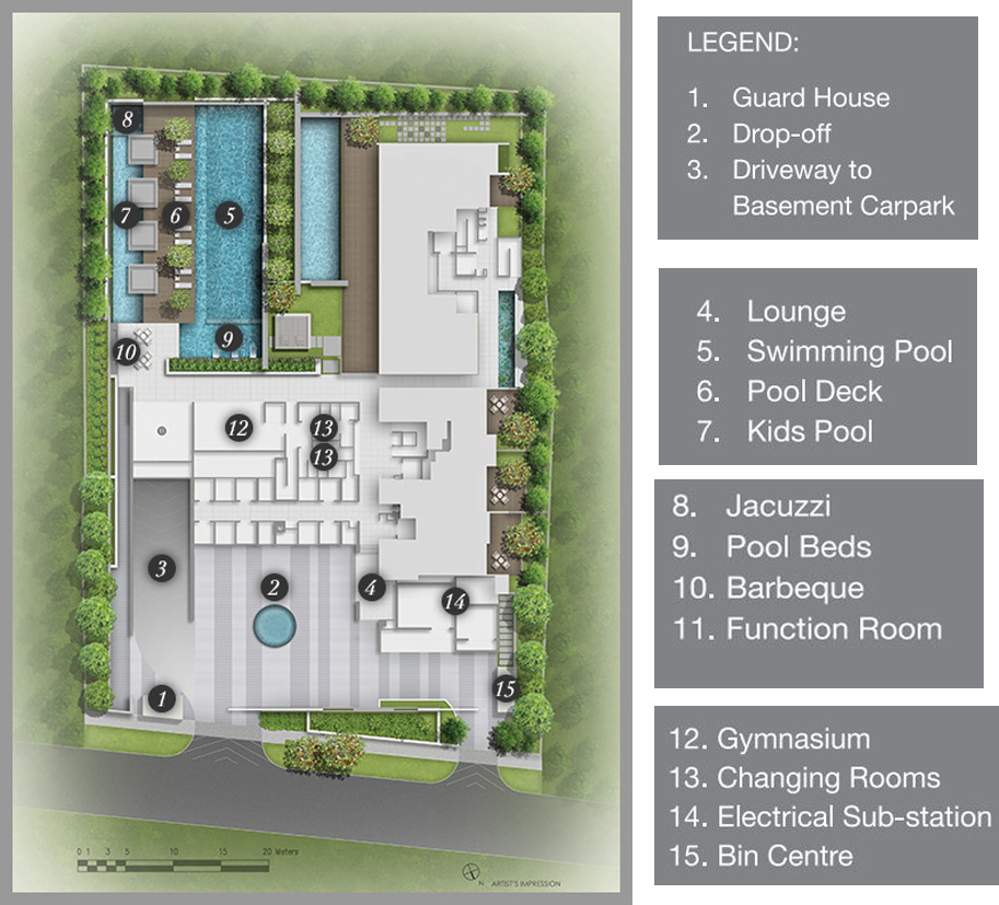 Lloyd Sixtyfive site plan