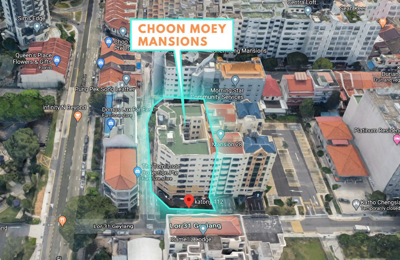 Choon Moey Mansions Location Map