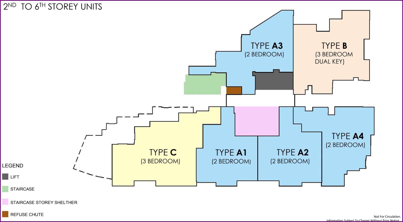Neu At Novena Floor Plans And Units Mix