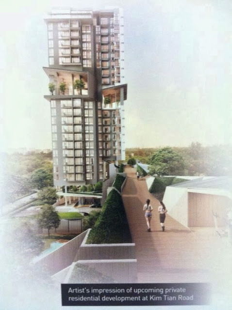 Highline Residences is the official name for Kim Tian Road condominium